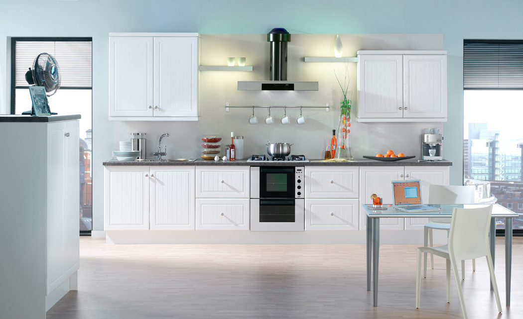 Devon kitchens kitchenworld exeter celine white kitchen for Kitchen design exeter