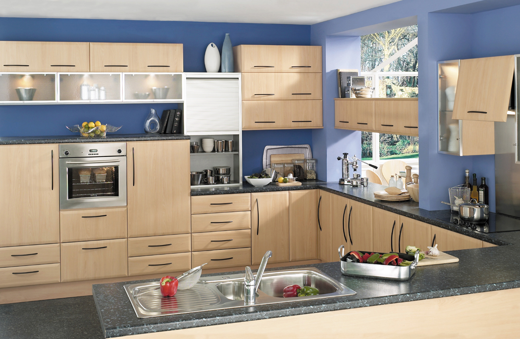 Devon Kitchens Kitchenworld Exeter Cologne Beech Kitchen