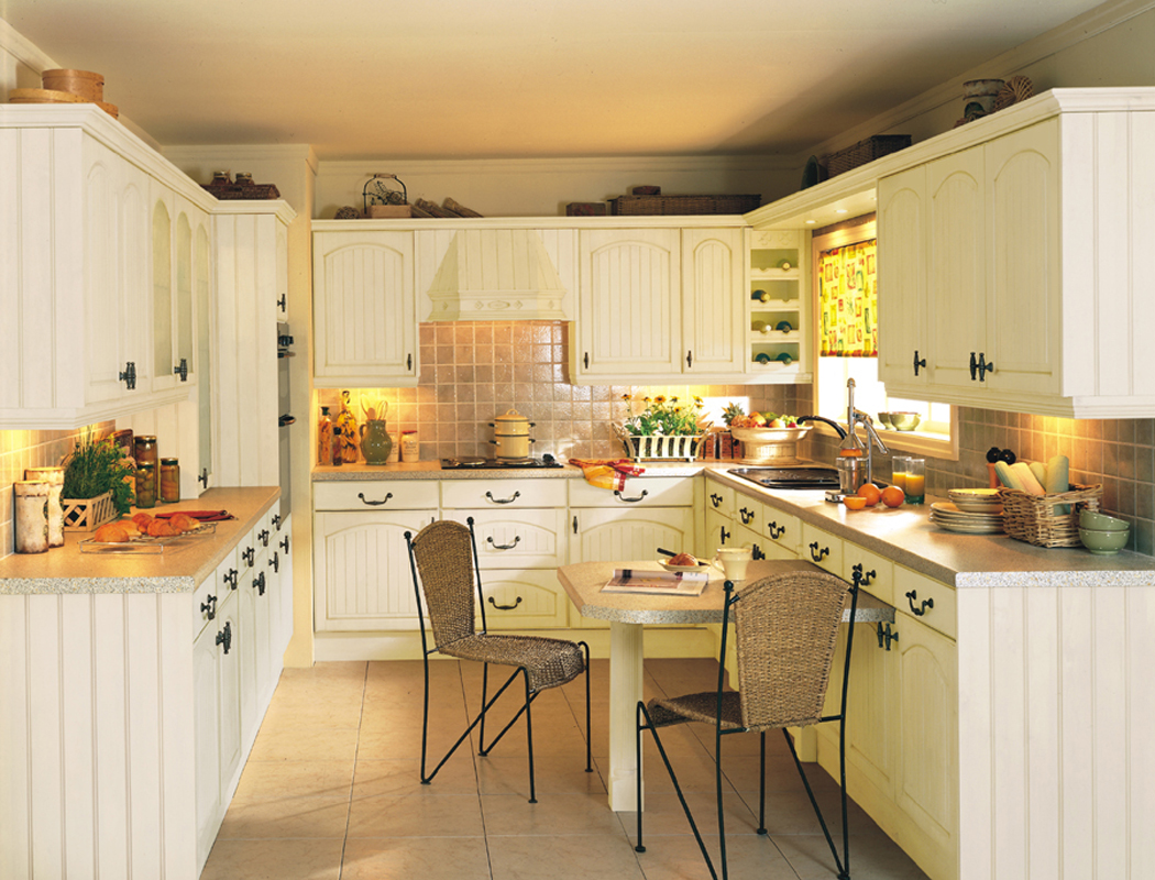 Country Kitchen Accessories Yellow