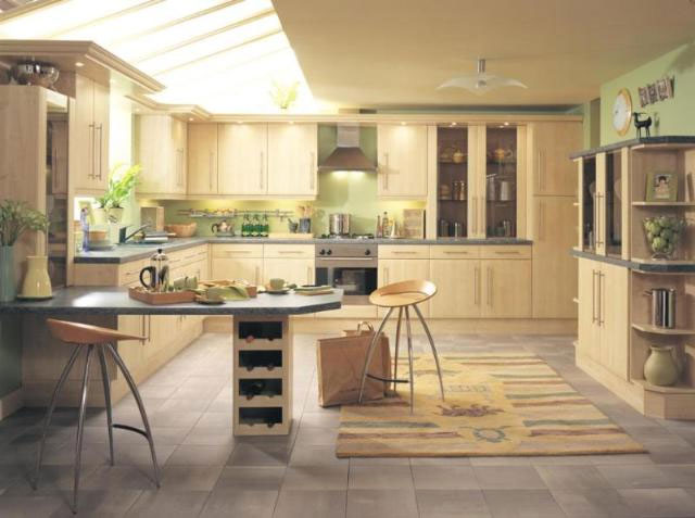 Devon Kitchens Kitchenworld Exeter Cologne Swiss Pear Kitchen