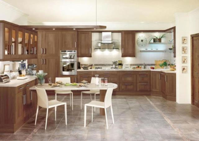 Exeter Kitchen Decor Walnut Kitchen » Traditional Kitchen Decoration Styles Kitchen Interiors Kitchen