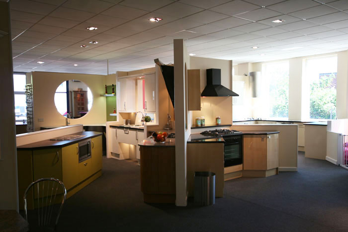 Devon kitchen showroom for Kitchen design exeter