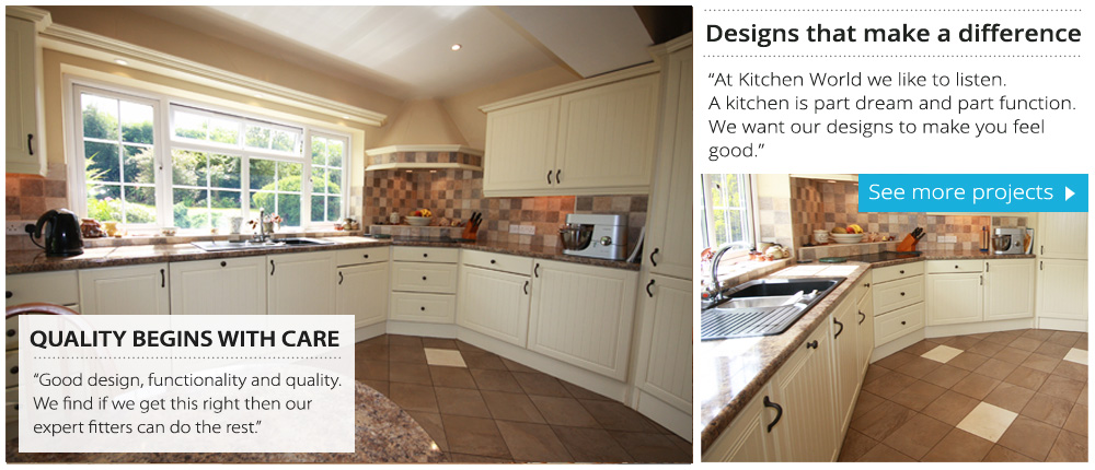 Devon kitchens kitchenworld exeter Kitchen design shops exeter